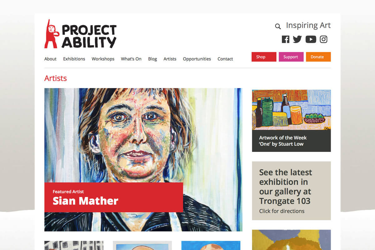 Project Ability Website