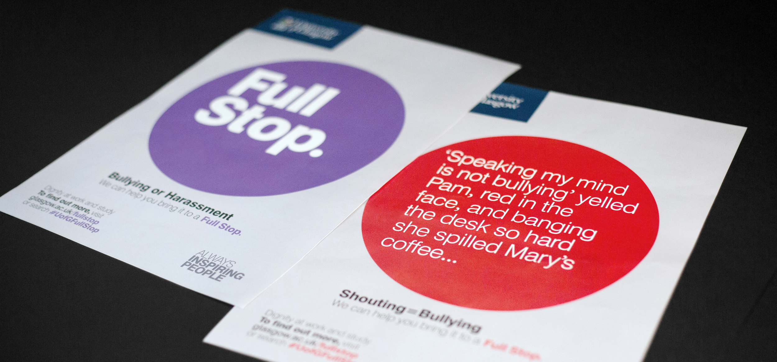 Campaign Design, Copy Writing & Naming Case Study: Full Stop